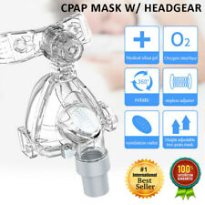 New S M L Size Sleeping Apnea Aids Respirator Full Face CPAP Mask with Headgear