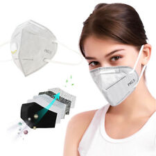 PM2.5 Protective Face Cover Anti-Dust Anti Pollution with Breathing Valves Mouth