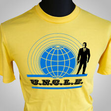 MAN FROM UNCLE RETRO T SHIRT NEW CULT CLASSIC TV 60'S