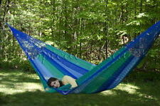New Cotton Family Mexican Hammocks | Large Breezy Point® Mayan Hammock Outdoors