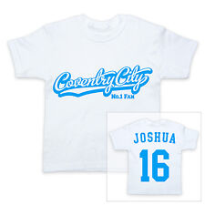 COVENTRY CITY Football Personalised Baby T-Shirt