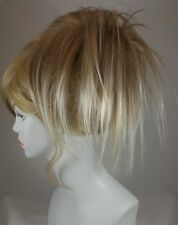 Short Fun Spiky Ponytail Topper Hairpiece w/drawstring