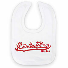 SWINDON TOWN Football Baby Bib: No.1 Fan