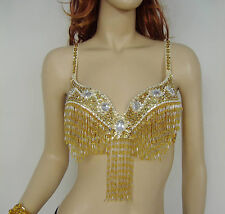 New Belly Dance Costume Professional Performance Top Bra Size 32-34B/C 9 colors