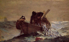 Winslow Homer The Herring Net - Stretched Giclee Canvas