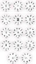 Nail Art Stamp Stamping Image Template Plate H series 3