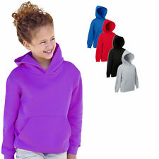 Fruit of the Loom Kinder Kapuzen Sweat Shirt Gr 116-164
