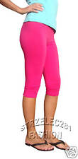 Pink Leggings 3/4 Length ***All Size Variations***