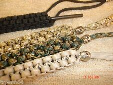 PARACORD KNIFE SKULL LANYARD w/ FERRO ROD *FREE SHIP*
