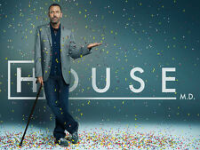 HOUSE MD HUGH LAURIE  Photo Poster Print Wall Art