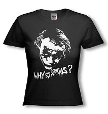 THE JOKER T-SHIRT - Heath Ledger -  NEW Ladies fitted FOTL / ALL Sizes & Colours