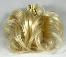 Claw Clip w/2 Wire Prongs Short Straight Ponytail Hair Updo Piece DM37