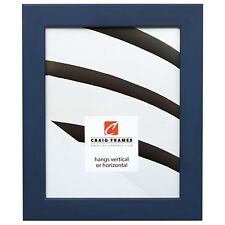 "Craig Frames Colori, 1.25"" Modern Blue Picture Frame"
