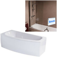 1500, 1600 & 1700 Straight & Compact Spacesaver Bath Tubs With Screen & Panel