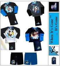 3-12 Years Dr Who Pyjama Set/Boxers 100% Cotton Multi Design Pick From List lot