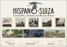 HISPANO-SUIZA SPECTACULAR ART DECO POSTER Picture Print Poster A1