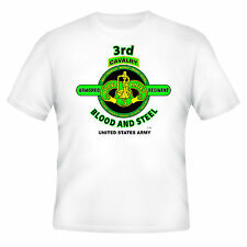 """3RD ARMORED CAVALRY REGIMENT """"BRAVE RIFLES"""" BLOOD AND STEEL  (DESIGN ON FRONT)"""