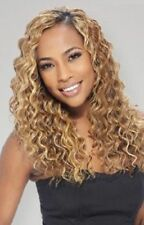 """AMAZING DEEP 18"""" EQUAL FREETRESS SYNTHETIC WEAVE EXTENSION HAIR CURL UP TO 400F"""