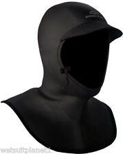 Hyperflex 3/2mm bibbed mesh skin wetsuit hood- SUP, Surfing, Kiteboarding,kayak