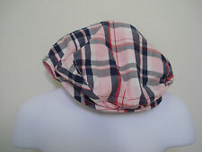 GYMBOREE GIRLS PLAID HOMECOMING KITTY PAIGEBOY HAT SIZE 5-7, 8 and Up NWT
