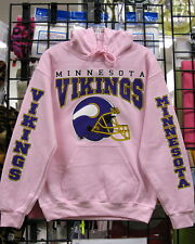 Minnesota VIKINGS-  PINK Sweatshirt/HOODIE Sizes S, M, L, XL, 2XL, 3XL, 4XL, 5XL