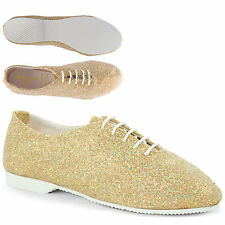 Glitter Full Sole Modern Jazz Shoes Hologram Girls Ladies By Dance Gear GJSR