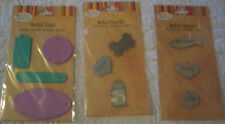 BOW WOW MEOW ZIPKIN SCRAPBOOK CHARMS EMBELLISHMENT *Metal Tags Dogs,Cats Blank *