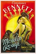 Vintage Old Movie Poster Moulin Rouge 1934 Print A4 A3 A2 A1