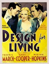Vintage Old Movie Poster Design For Living 1933 Print Art A4 A3 A2 A1