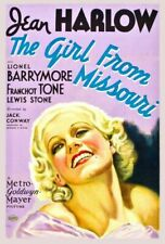 Vintage Old Movie Poster The Girl From Missouri 1934 Print A4 A3 A2 A1