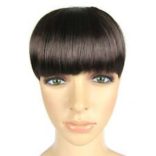 NWT Hotsale Fashion Pop Short Clip-On Clip-In Front Bangs Fringe Hair Extensions