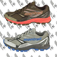 MONTRAIL DGL2123 WOMENS NEW BADROCK TRAIL RUNNING SHOE 7 TIGER/BERRY SODA