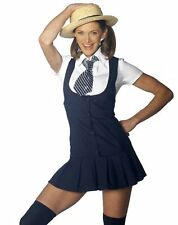 Sexy St Trinians School Girl Fancydress Outfit Costume S M L XL Plus Size