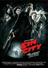 Sin City Thrilling Movie Poster Reproduction Art Print A4 A3 A2 A1