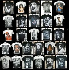 Free Shipping Unisex T shirt S M L XL Rock Indie R & B Rap Singer Band
