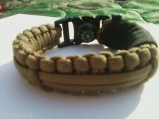 "Paracord Bracelet-Adjustable-""SERE Bracelet"" *FREE ship*"