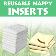 Reusable Washable Nappy Inserts Boosters Liners For Real Pocket Cloth Nappy