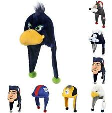NFL Football Thematic Mascot Dangle Hat - Pick your team - Soft Plush New