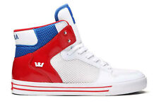 Supra Vaider All Star Red White Blue Shoe 8 8.5 9 9.5 10 10.5 11 11.5 12 13