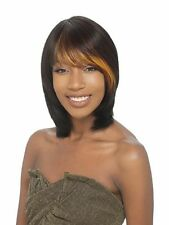 DESTINY BY SAGA 100% REMY HUMAN HAIR FULL WIG DUBY STYLE WITH BANG