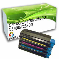 Reman Toner Cartridges Replace for OKI 3100 5100 5500 5600 3300 Printer