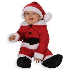 Santa Outfit for Baby or Toddler Warm Fleece Christmas Costume Fancy Dress