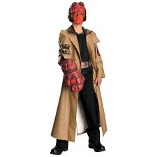 Deluxe Hellboy Child Boys Superhero Hell Boy Halloween Costume