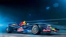 Red Bull RB4 Formula 1 Car CARS5165 Art Print Poster A4 A3 A2 A1