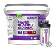 4KG WEIGHT GAINER LEAN MASS GAIN WHEY PROTEIN - HIGH CALORIE+ BCAAs