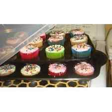 Cupcake Bake & Take Pan Tray & Cover Kitchen Dining Server Catering Party Home