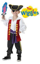 Captain Feathersword  Pirate The Wiggles Toddler Costume