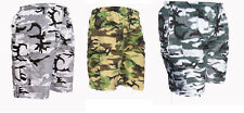 MENS CAMO COMBAT CARGO ARMY SHORTS BIG SIZE 3XL 4XL 5XL  lightweight  camoflaged