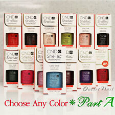 CND SHELLAC UV GEL COLOR Power Polish PART 1 - All New Collection * SHIP IN 24H!