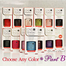 CND SHELLAC UV GEL COLOR Polish / Base Top Coat PART 2 - All New Collection!
